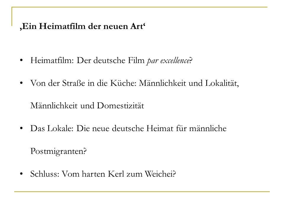 Ein Heimatfilm der neuen Art Heimatfilm: Der deutsche Film par excellence.