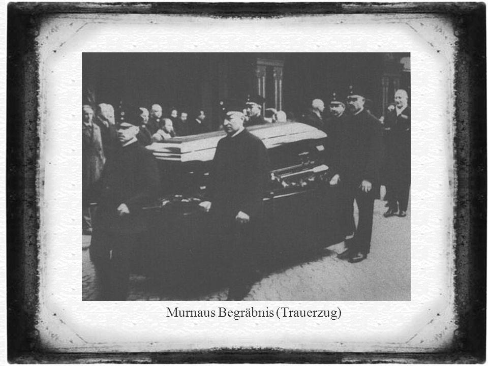 Murnaus Begräbnis (Trauerzug)
