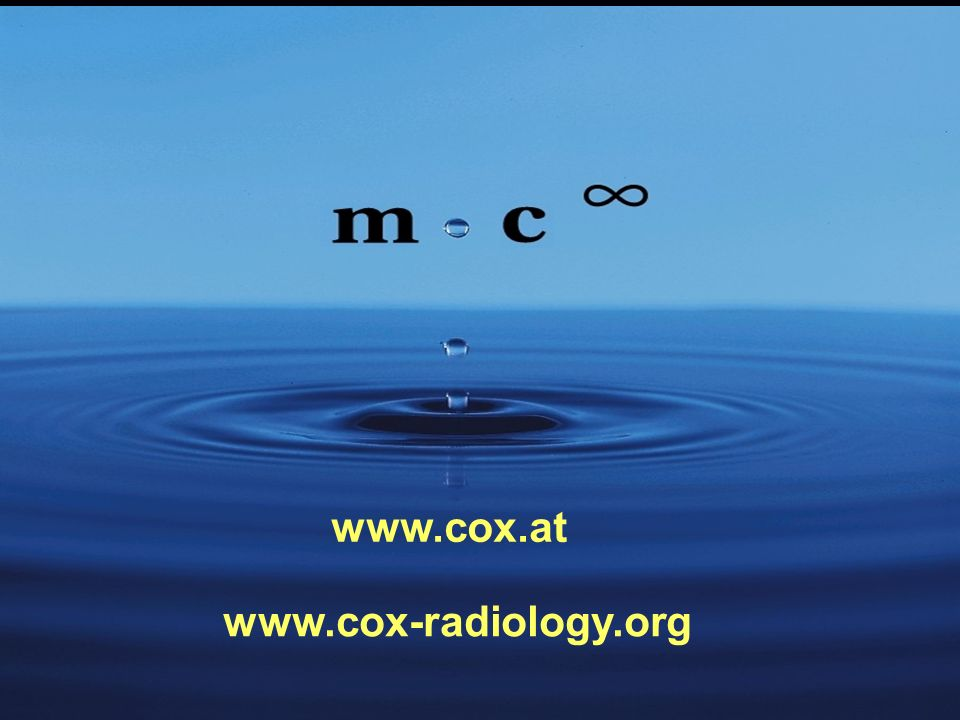 www.cox.at www.cox-radiology.org