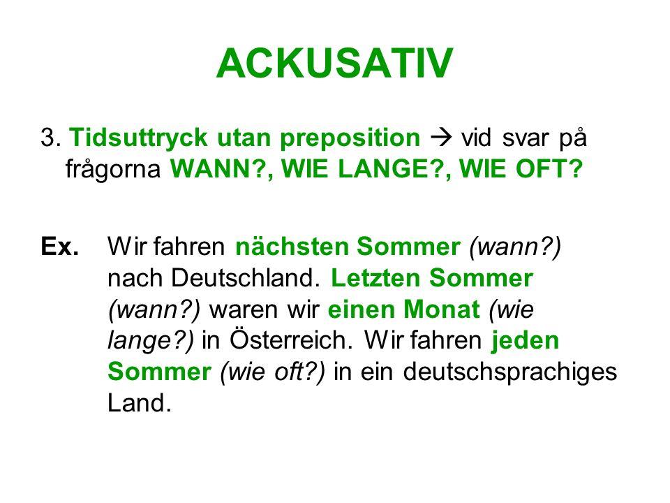 ACKUSATIV 4.