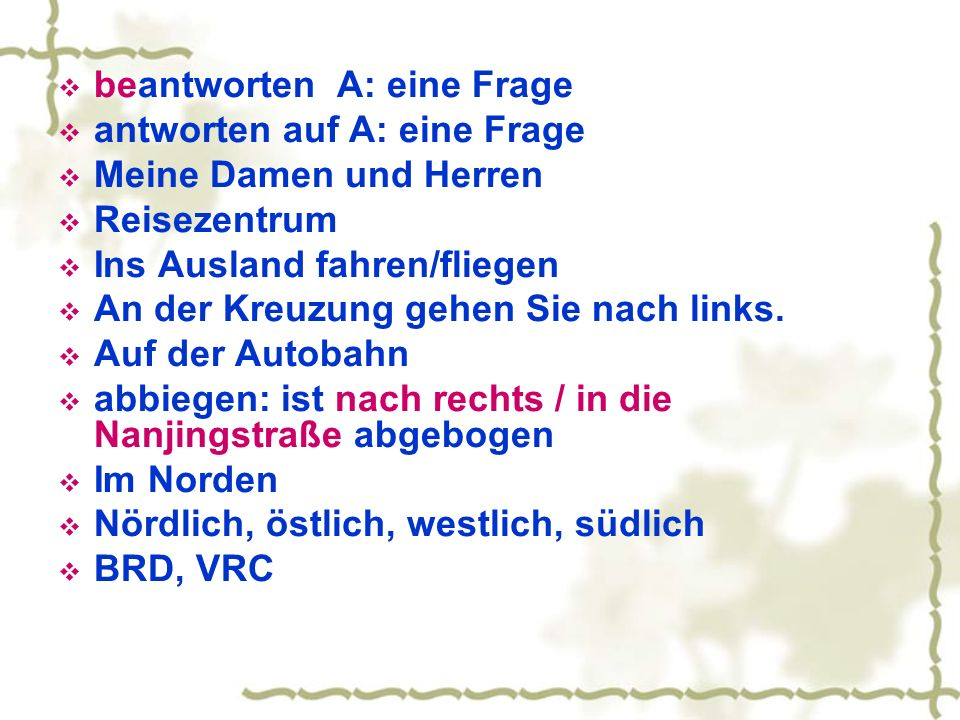 Text 3 Circa verbinden etwas( A) mit etwas(D) Die Prüfung liegt hinter uns.