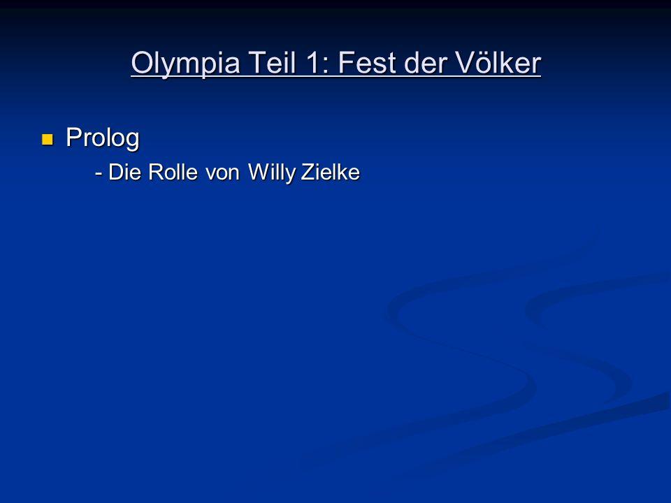Prolog Prolog - Die Rolle von Willy Zielke