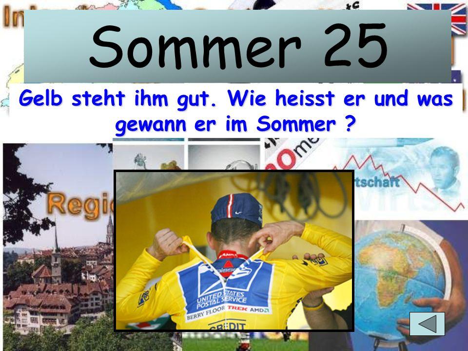 Sommer 20 August: 6xGold, 2xBronze. Wie heisst dieser Olympiastar ?