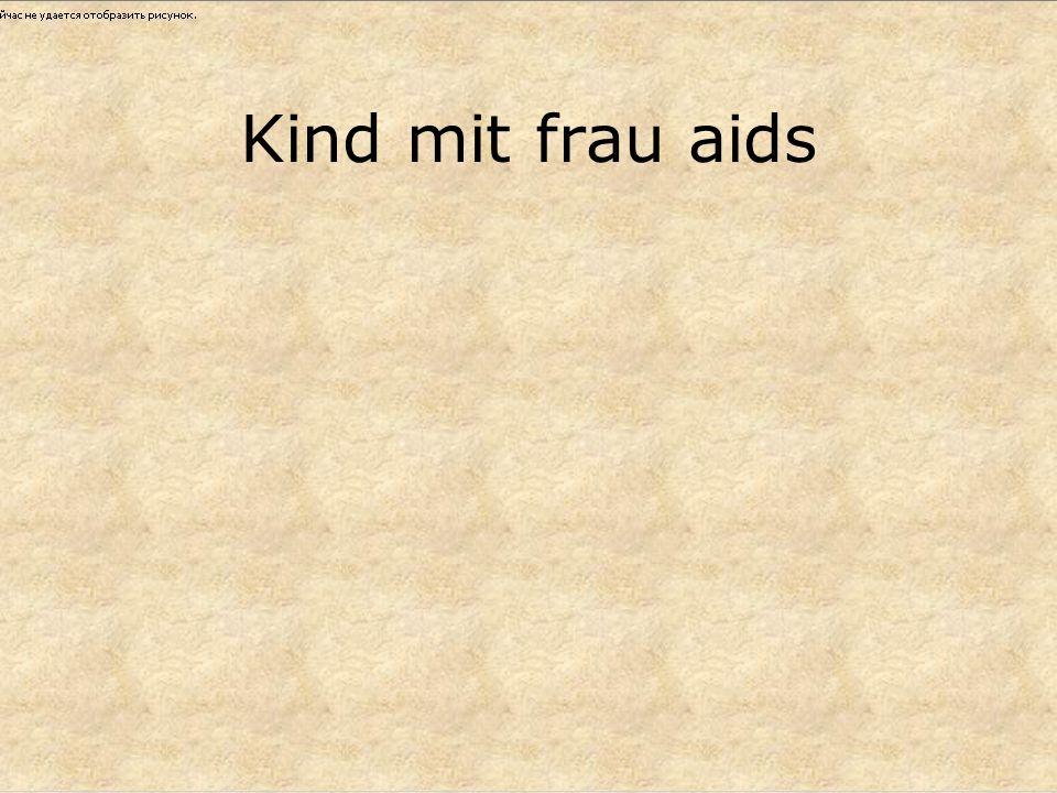 Kind mit frau aids