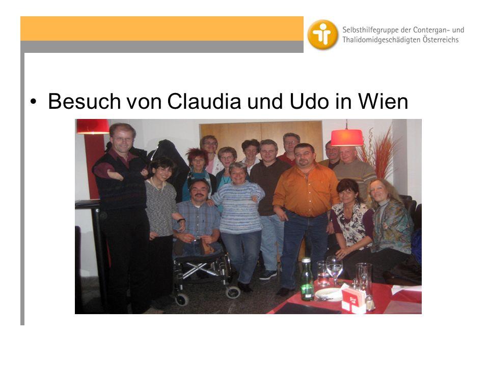 Februar 2009: Wir sind im Gesundheitsministerium geladen Die Gespräche im zuständigen Gesundheitsministerium beginnen am 4.2.2009 und enden im Herbst 2009 mit der Zusage einer Einmalzahlung für die österreichischen Conterganüberlebenden.