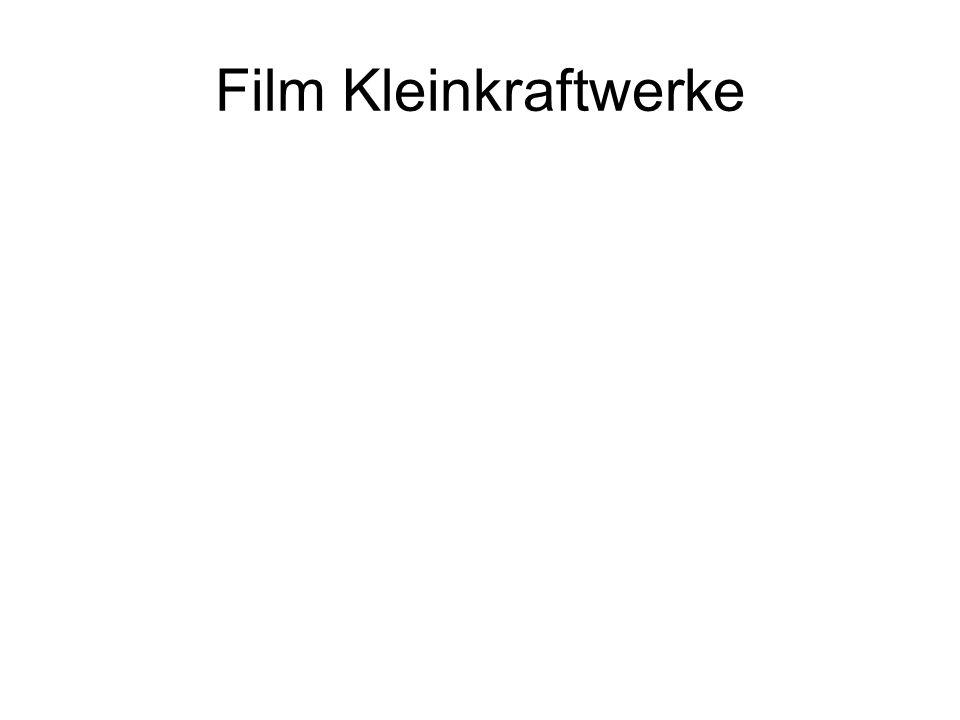 Film Kleinkraftwerke