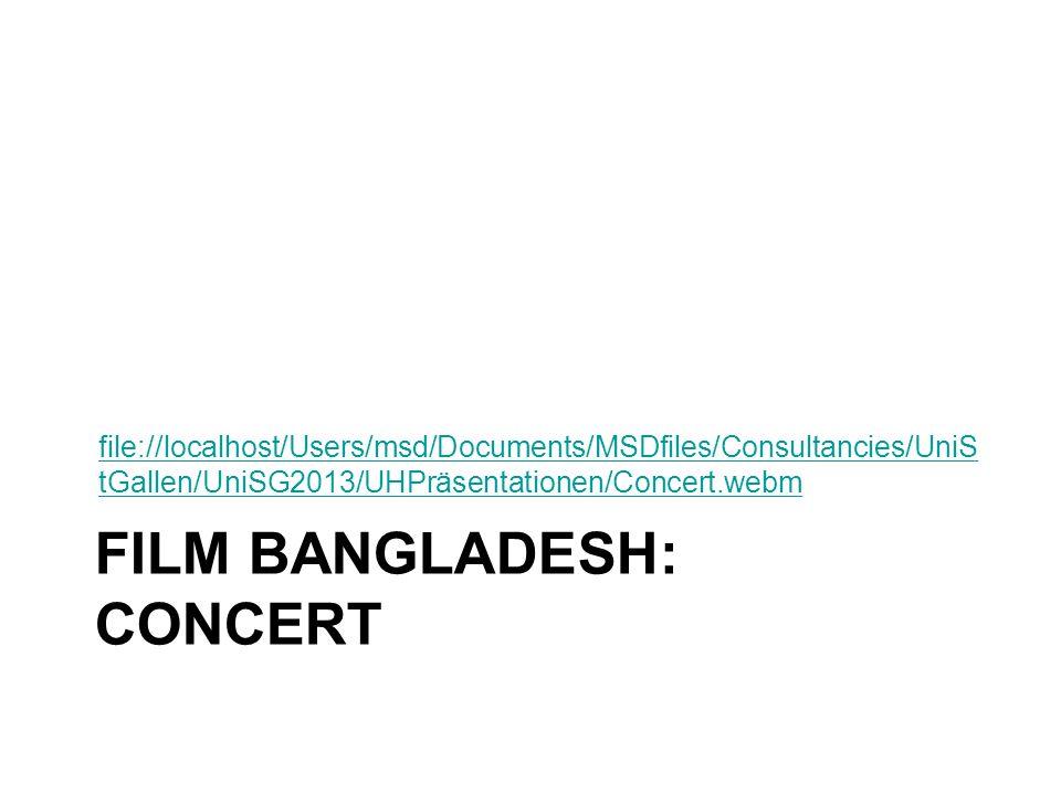 FILM BANGLADESH: CONCERT file://localhost/Users/msd/Documents/MSDfiles/Consultancies/UniS tGallen/UniSG2013/UHPräsentationen/Concert.webm