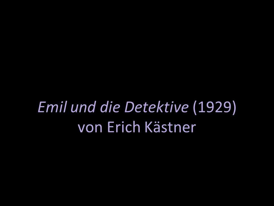 Emil und die Detektive (1929) von Erich Kästner