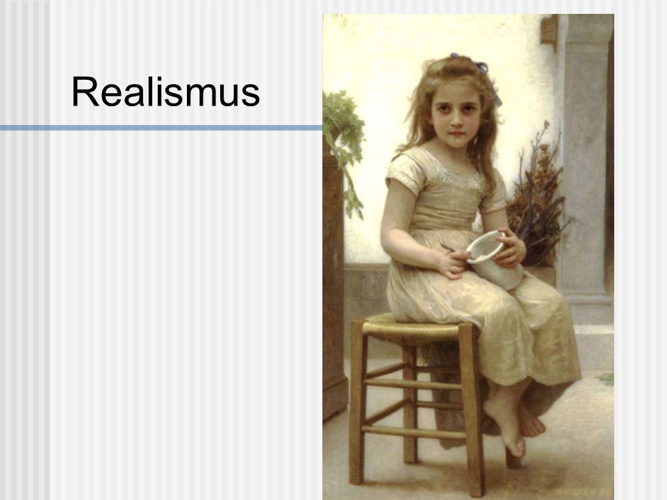 Eine Gestaltungsweise in Malerei und Plastik, deren Ergebnis ein Abbild der sichtbaren Wirklichkeit ist; darüber hinaus kann realistische Darstellung zugleich Deutung und Wertung des abzubildenden Sujets beinhalten.