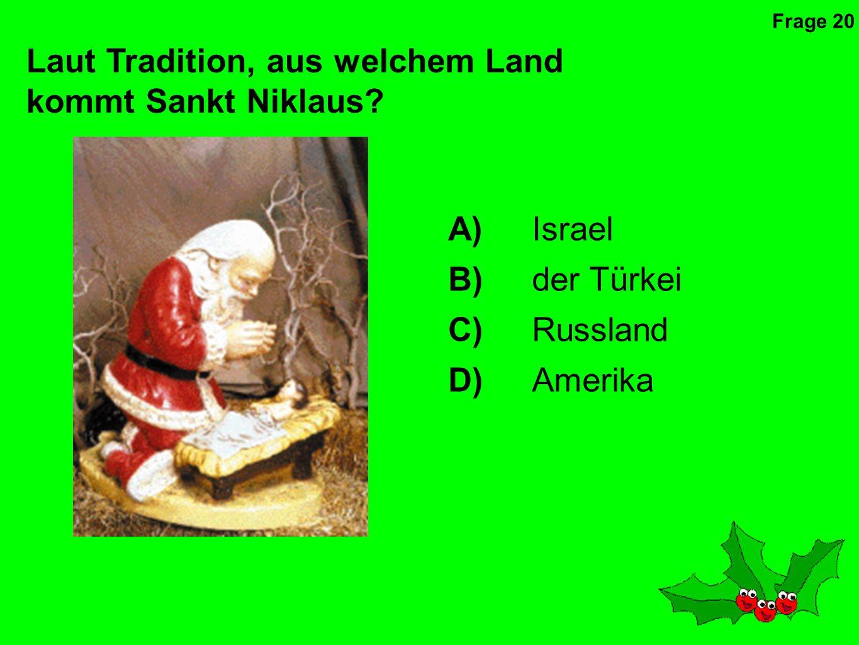 Welcher Heilige wird am zweiten Weihnachtstag gefeiert.