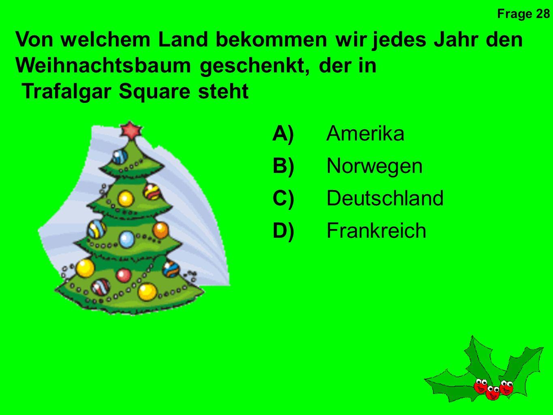 Wer war die erste Person in Großbritannien, die einen Weihnachtsbaum hatte.