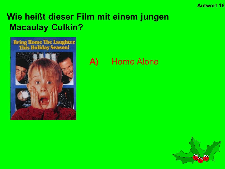 C)Tom Hanks Wem gehört die Stimme in diesem Weihnachtsfilm? Antwort 15