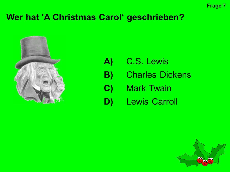 An wen glaubt dieser Sänger? D)den Weihnachtsmann A)die Zahnfee B)Gott C)die Osterhase Frage 6