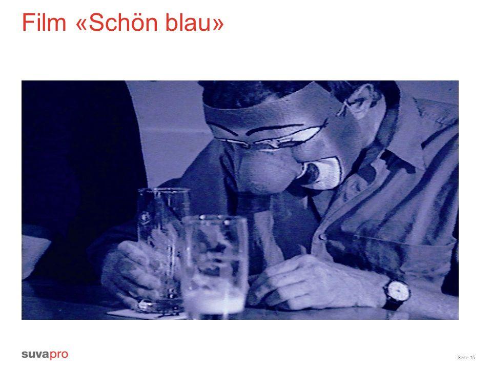 Seite 15 Film «Schön blau»