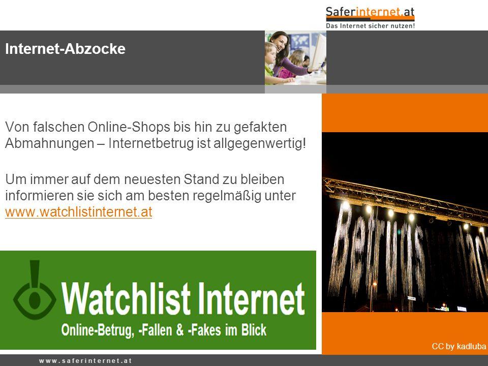 Quelle: Wikipedia Von falschen Online-Shops bis hin zu gefakten Abmahnungen – Internetbetrug ist allgegenwertig! Um immer auf dem neuesten Stand zu bl