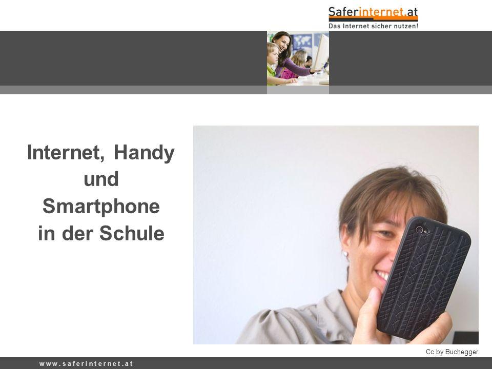 Internet, Handy und Smartphone in der Schule Cc by Buchegger