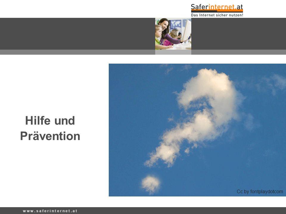 Hilfe und Prävention Cc by fontplaydotcom