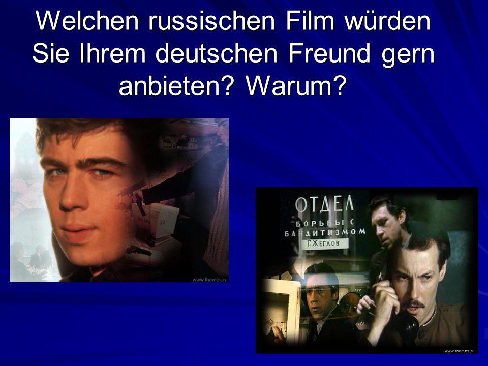 Welche Genres des Films sehen Sie gern? Wer? Wer? Genre des Films Genre des Films Warum? Warum? Olga Nadja Sonja Sonja Maxim Alexander Tanja