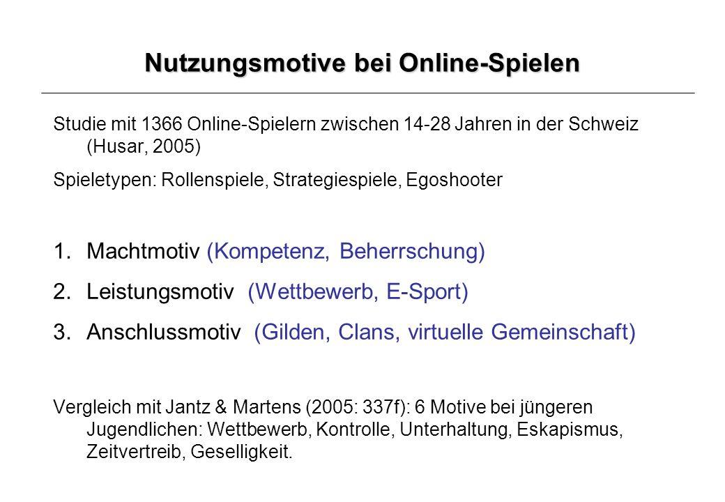 Sensation Seeking (Uli Gleich et al.