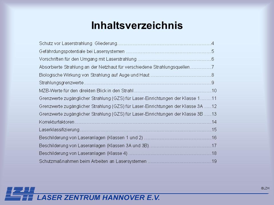 ©LZH Inhaltsverzeichnis