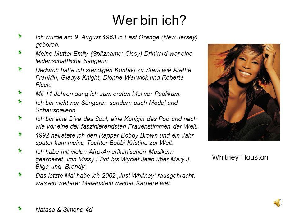 Ich wurde am 9. August 1963 in East Orange (New Jersey) geboren. Meine Mutter Emily (Spitzname: Cissy) Drinkard war eine leidenschaftliche Sängerin. D