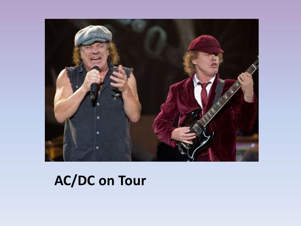 AC/DC on Tour
