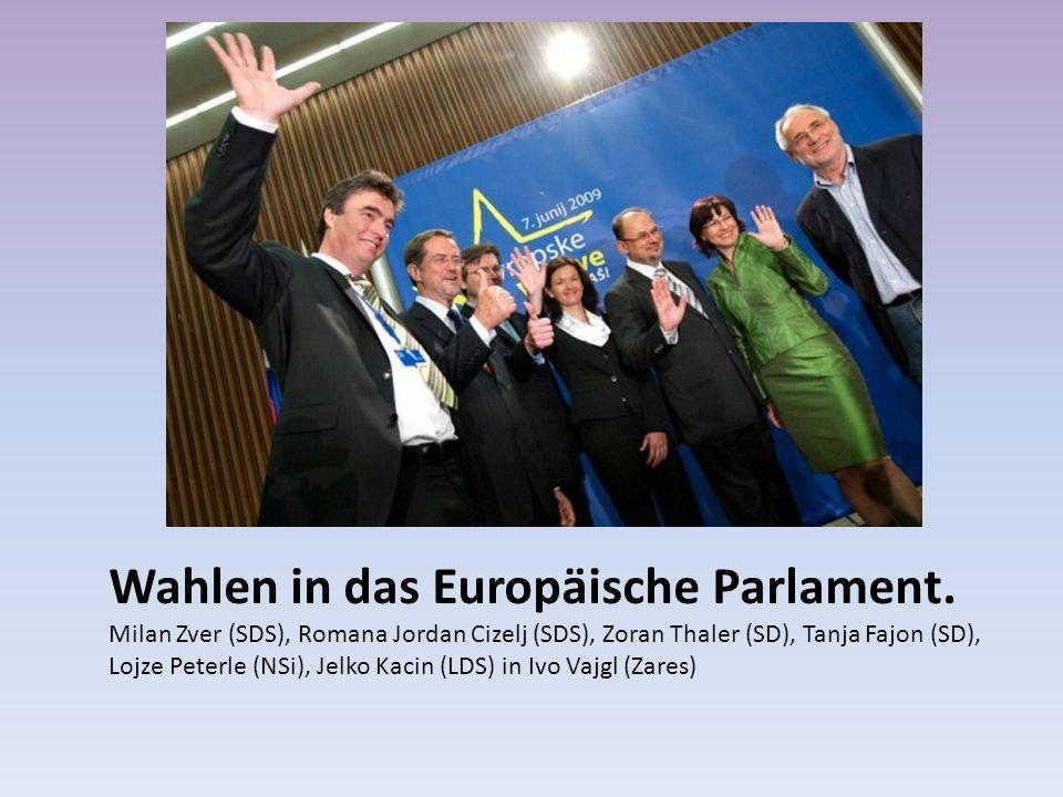 Wahlen in das Europäische Parlament.