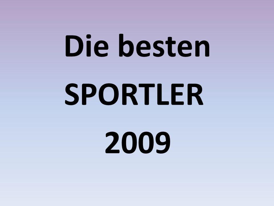 Die besten SPORTLER 2009