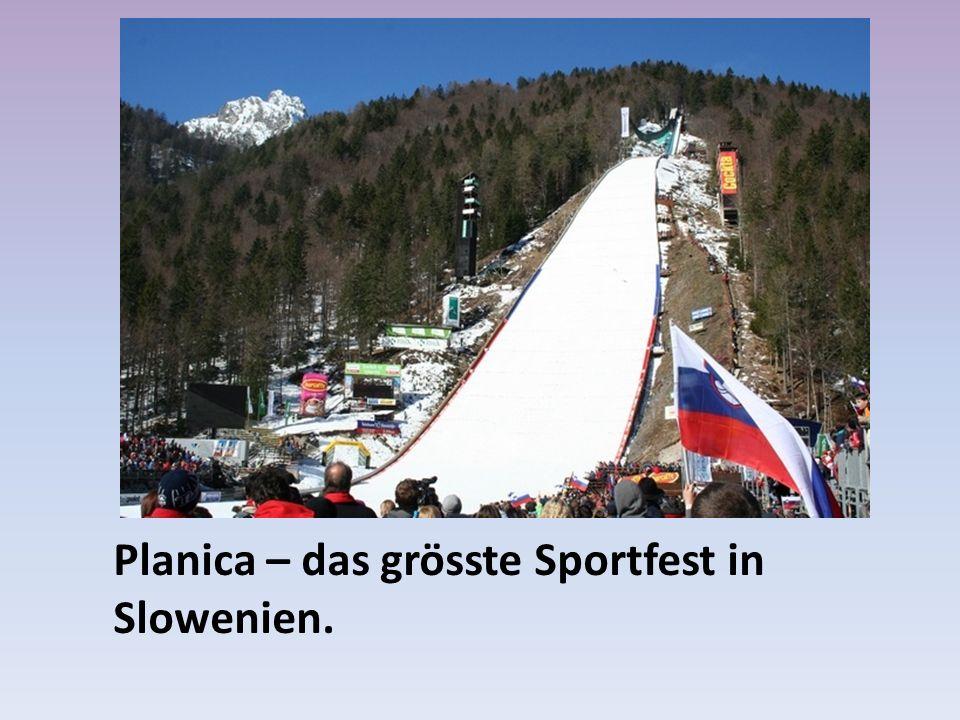 Planica – das grösste Sportfest in Slowenien.