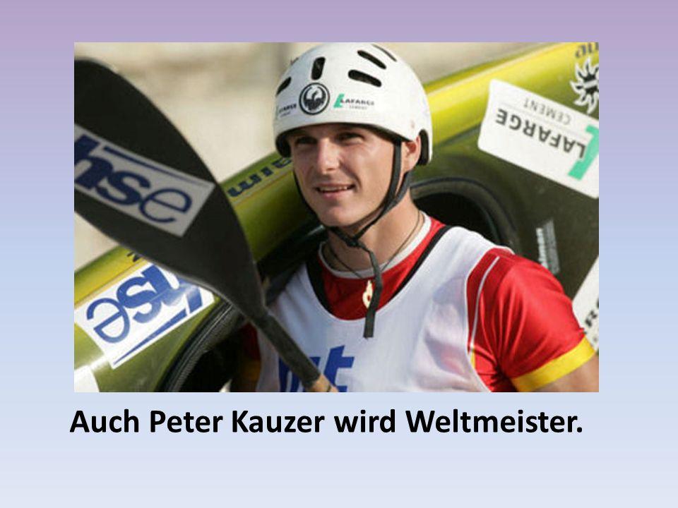 Auch Peter Kauzer wird Weltmeister.
