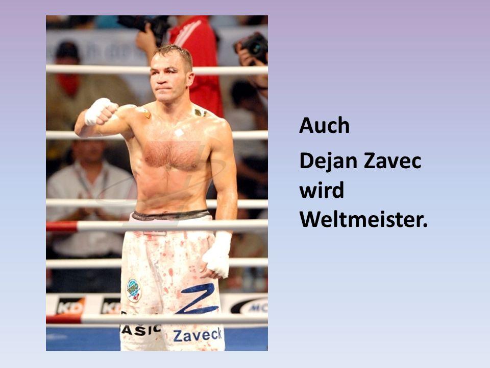 Auch Dejan Zavec wird Weltmeister.