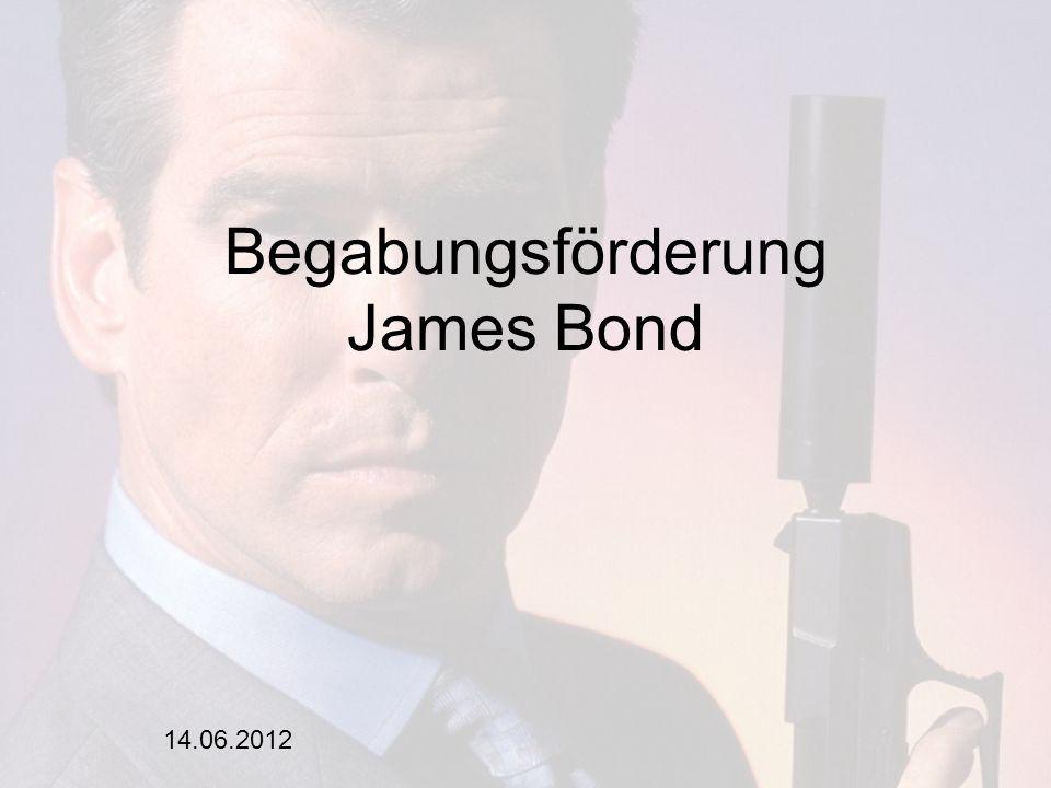 14.06.2012 Begabungsförderung James Bond