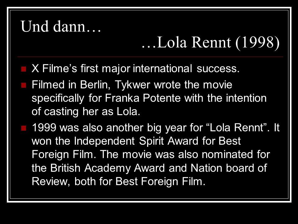 die Filmschauspielerin Franka Potente Born on July 22, 1974 in Munster, Germany, growing up in nearby Dulmen.