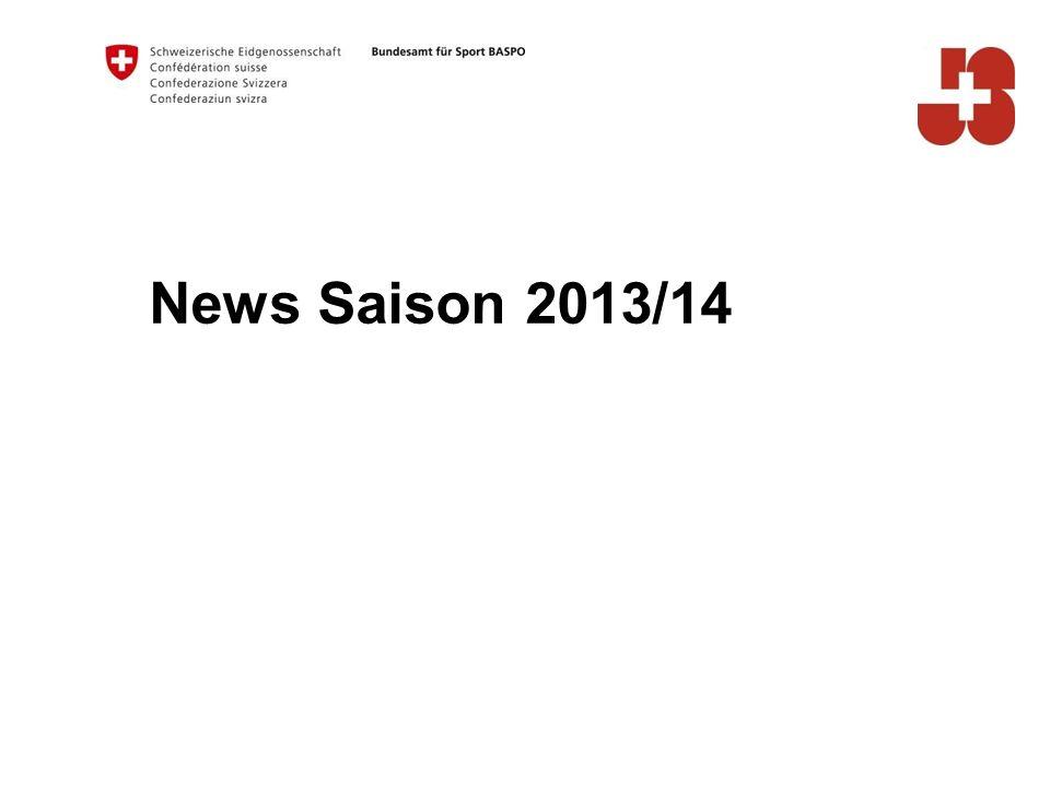 News Saison 2013/14