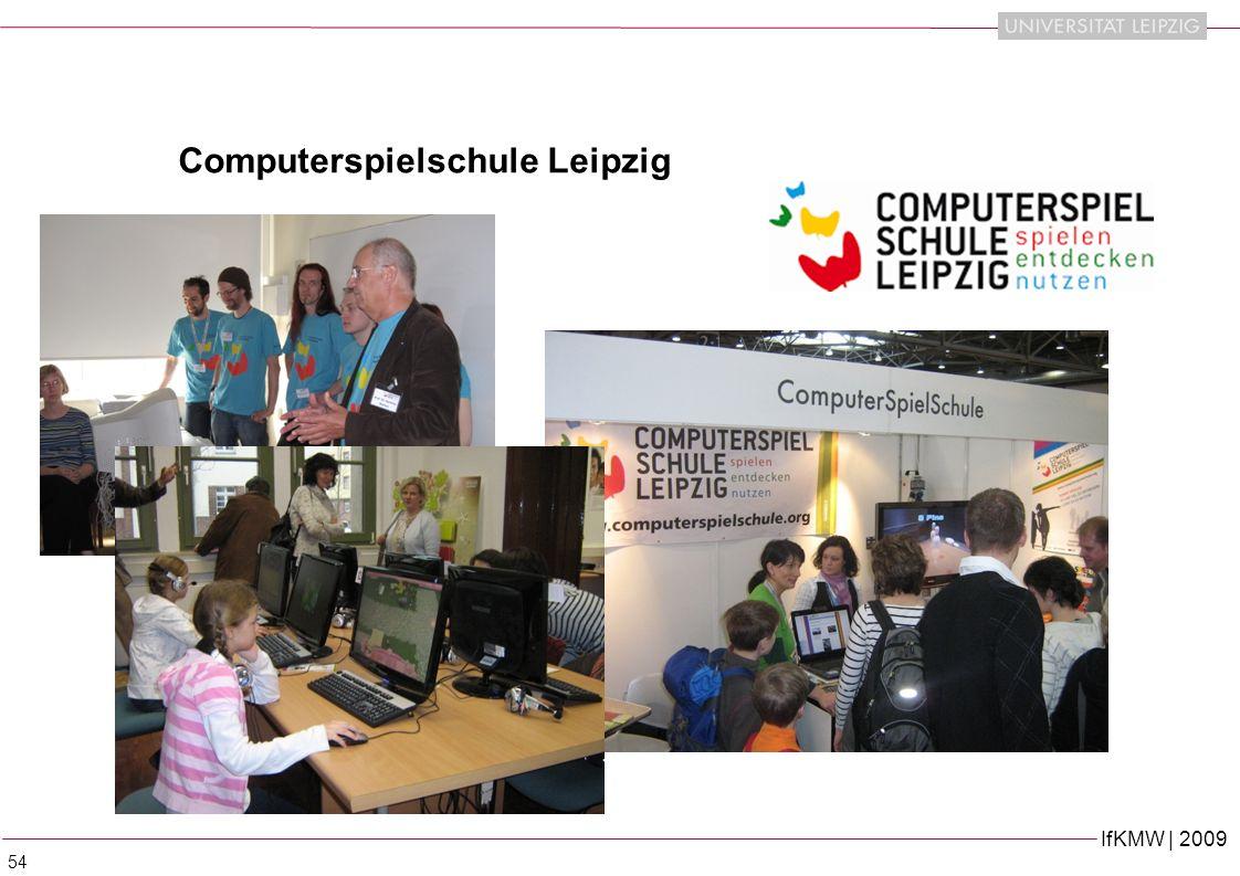 IfKMW | 2009 54 Computerspielschule Leipzig