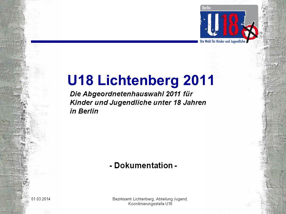 Was ist U 18.U18 ist die Wahl für alle Kinder und Jugendlichen.