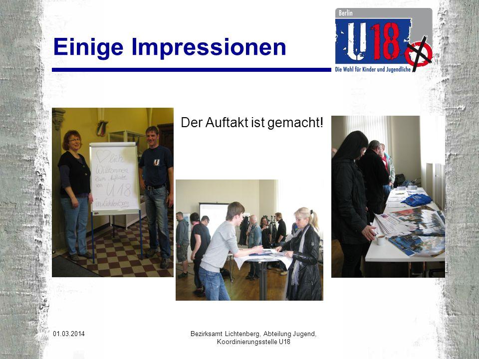 Das Berliner Netzwerk Kinder- und Jugendbeteiligungsbüros in den Bezirken, Bezirksämter und weitere Einrichtungen haben sich zum Berliner U 18-Netzwerk zusammengeschlossen.