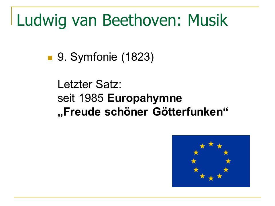 Ludwig van Beethoven: Musik 9.