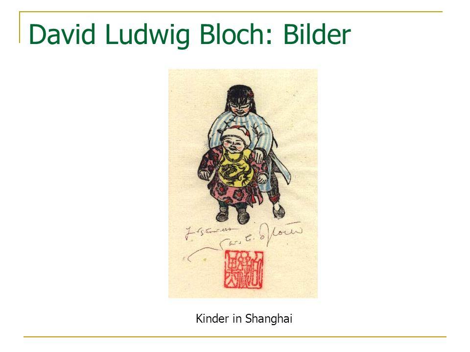 David Ludwig Bloch: Bilder Kinder in Shanghai