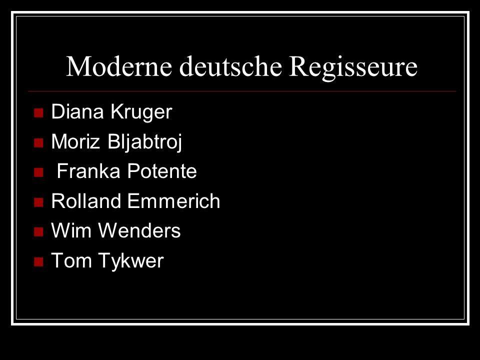 Franka Potente Noch wurde als die Studentin der Theaterschule, deutsche Schauspielerin Franka Potente im Film Nach fünf in Urwalde» abgenommen und hat den nationalen Filmpreis für das beste Debüt bekommen.