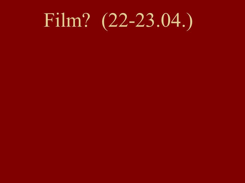 Film (22-23.04.)