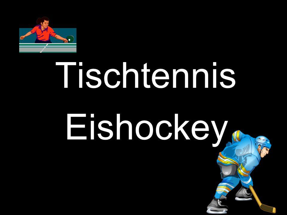 Tischtennis Eishockey