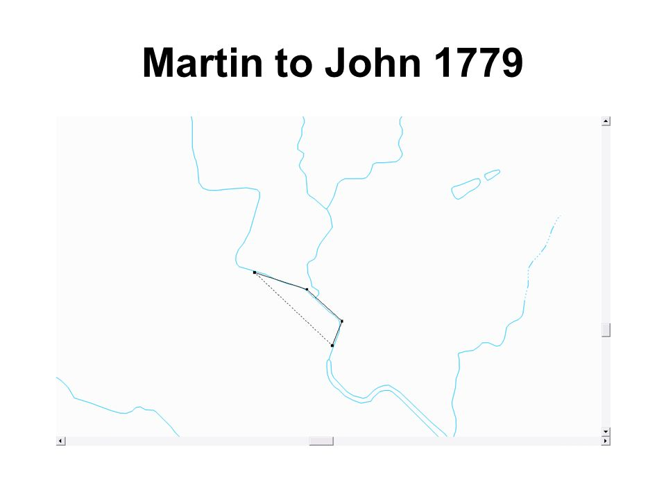 Martin to John 1779