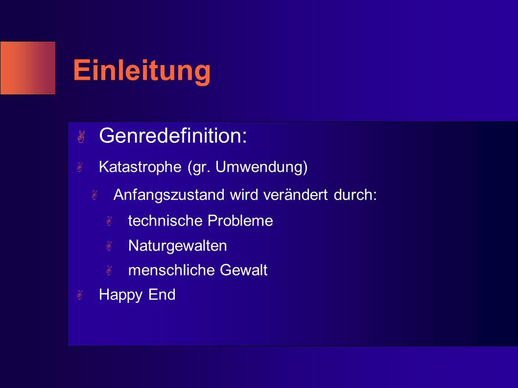 A Genredefinition: A Katastrophe (gr.