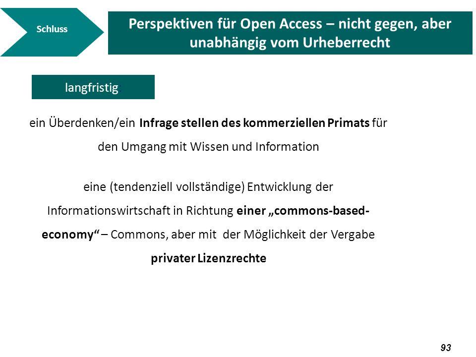 94 Diskussion Vielen Dank für Ihre Aufmerksamkeit Folien unter einer CC-Lizenz auf www.kuhlen.nameeiner CC-Lizenz www.kuhlen.name