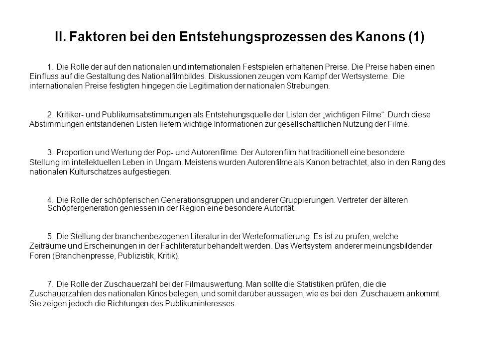 VI.Zusammenfassung: der ungarische Schulkanon i) Szegénylegények.