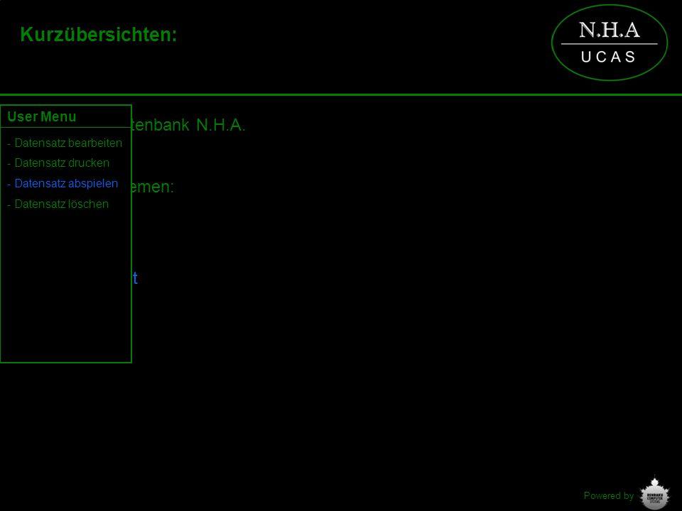 Powered by Kurzübersichten: Historische Datenbank N.H.A. Verfügbare Themen: - Archiv - Aktuelle Arbeit User Menu - Datensatz bearbeiten - Datensatz dr