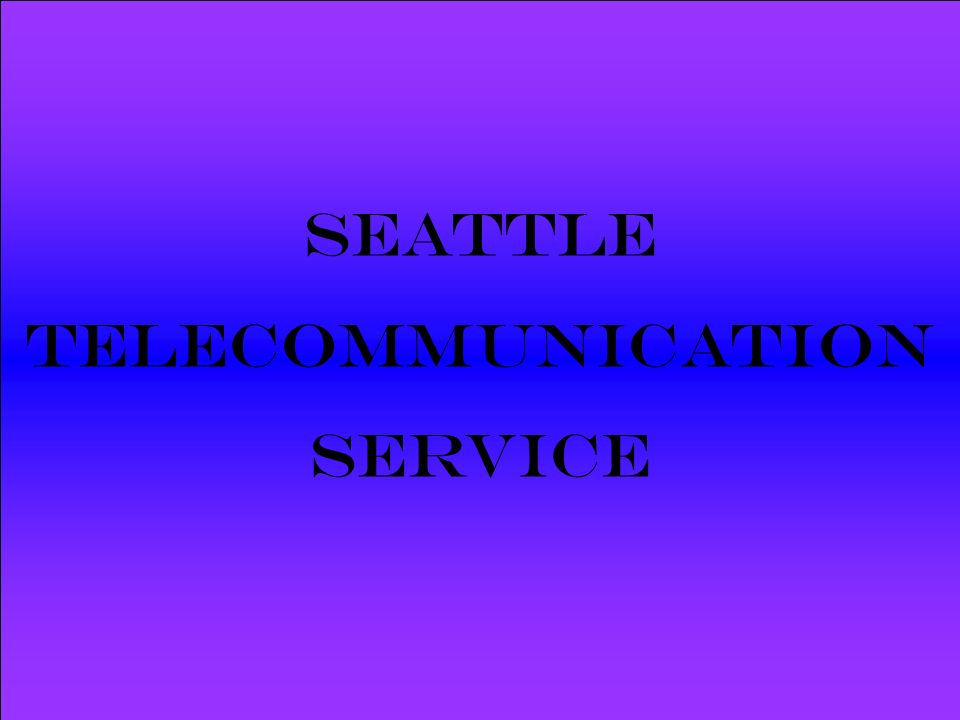 Powered by Seattle Telecommunication Service SoyBurgesa, der neue, mit extra viel Käseersatz.