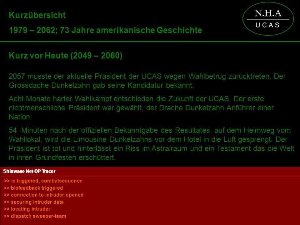 Powered by Kurzübersicht 1979 – 2062; 73 Jahre amerikanische Geschichte Kurz vor Heute (2049 – 2060) 2057 musste der aktuelle Präsident der UCAS wegen