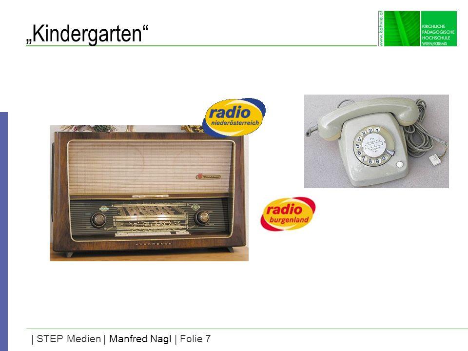 | STEP Medien | Manfred Nagl | Folie 7 Kindergarten